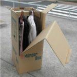 ハンガーボックスの使用例