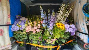 切花の配送